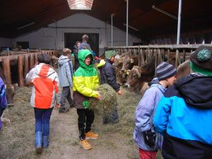 Besuch auf dem Biobauernhof der Familie Waizenegger. Ein Erlebnis für uns und die Kids!