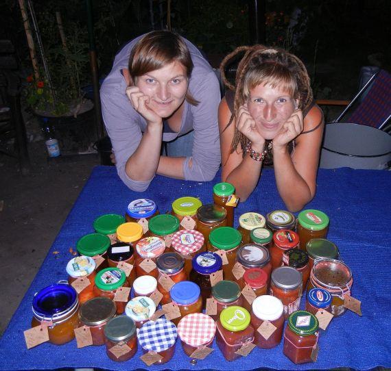 Marmeladenmassenproduktion auf der CityFarm.