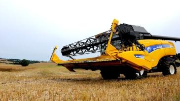 Maschinen industrialisierter Landwirtschaft. Foto: Martin Pettitt