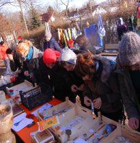 Saatguttauschstand auf dem Vorfrühlingsfest 2013