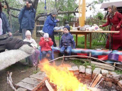 Das Hexenfeuer brannte vom Nachmittag bis in den nächsten morgen!